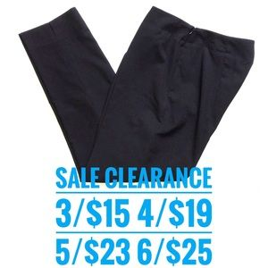 Talbots black ankle pants sale clearance 3 for 15